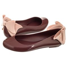 4bb667ca4a3c Baleriny Melissa Space Love Bow II AD 32187 51558 Burgundy Pink w  ButSklep.pl