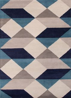 Jaipur Living: Branded 5x8 size Rugs in Blue color - Buy Online
