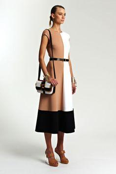 Plain Geometry: Color-Block Dress