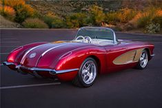 Classic Car News – Classic Car News Pics And Videos From Around The World Chevrolet Corvette C1, 1958 Corvette, Chevy, Pontiac Gto, Classic Corvette, Convertible, Lifted Ford Trucks, Barrett Jackson Auction, Collector Cars