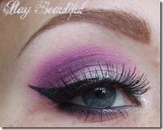 Purple Plushie look by Robyn