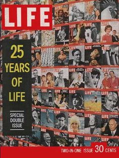 "LIFE is almost 25 - Life Magazine, December 26, 1960 issue - Visit http://www.oldlifemagazines.com/the-1960s/1960/december-26-1960-life-magazine.html?q= to purchase this issue of Life Magazine. Enter ""pinterest"" for a 12% discount at checkout - LIFE is almost 25"