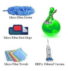 Green Best House Cleaning Supplies Images - Check out more excellent tips and tricks for your cleaning business