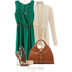 A fashion look from January 2013 featuring Monsoon cardigans, B Brian Atwood sandals and Gucci handbags. Browse and shop related looks.