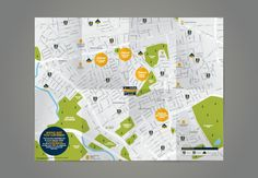 Northfields London Newsletters / Maps Collection by Jonathan Quintin, via Behance