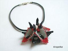 Luxury-geometric beadwork