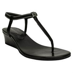 BCBGeneration Jiggy T-Strap Wedge Sandal #VonMaur #SpringFashion #Sandals