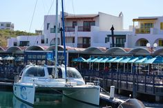 Mykonos yacht club and restaurant in Langebaan - West Coast - Western Cape South Africa. For more information about the town and its lifestyle, please follow the link - or visit our office in the Laguna Mall. #langebaan #Mykonos #westcoast #weskus