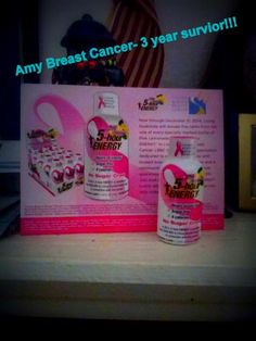 I'm a three year survivor with a 13 year surviving mother! This product is helping people facing breast cancer, Please take the challenge, Great tasting, lots of energy to face the day with no crush feeling!