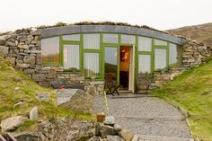 Hebridean Earth House. Enjoy a luxury self-catering break on South Uist in this truly stylish and sophisticated 'earth shelter', built into the hillside on the shore of a beautiful fresh water loch - the ideal location for you and your partner to escape the hustle and bustle of everyday life. Mary Schmoller mobile: 07500190344 email: stay@hebhide.co.uk