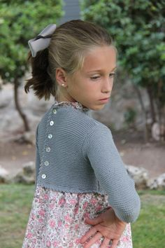 mar&ola Knit Baby Dress, Knitted Baby Clothes, Baby Girl Fashion, Fashion Kids, Little Girl Dresses, Girls Dresses, Baby Fabric, Knitting For Kids, Child Models