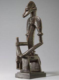 Senufo Syonfolo Figure, Ivory Coast