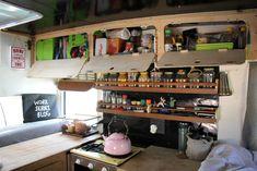 vanlife - storage = Optimus - Interior Reveal of our 1974 VW Jurgens Campervan (Finally) - 3 Kids, 2 Dogs and 1 Old House Campervan Interior, Van Living, 3 Kids, 4 Months, Airstream, Camper Van, Van Life, Campers, Liquor Cabinet