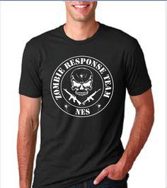 NES Zombie Response Team - T-Shirt — Blind Eye Apparel