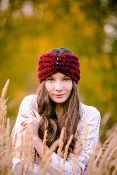 Модная повязка на голову своими руками