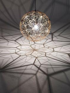 Geometrische Schatten Lampe