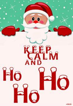 KEEP CALM AND HO HO HO - created by eleni (Christmas Specials)