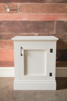 Panel Nightstands