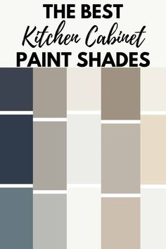 Need a Kitchen cabinet paint colors? Check out some of the most popular paint colors for your kitchen cabinets. #kitchen #paintcolors #cabinets Popular Kitchen Colors, Most Popular Paint Colors, Best Kitchen Colors, Kitchen Wall Colors, Kitchen Colour Schemes, Kitchen Paint Schemes, Kitchen Cupboard Colours, Best Kitchen Cabinet Paint, Best Paint For Kitchen