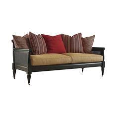 Henredon Acquisitions Upholstery Traveler Wood Frame Sofa