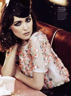 InStyle | Rose Bryne In Sequined Silk Top, Spring 2012: Beginnings beginnings-love-diane