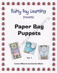 Paper Bag Puppets, Vol. 1