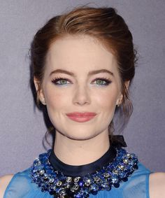 Here's How to Pull Off the Year's Trickiest Celebrity Makeup Trend - Emma Stone from InStyle.com
