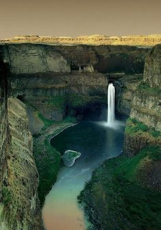 Palouse Falls State Park  Washington