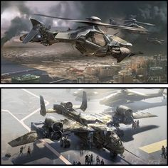 Concept Arts e Speed Paintings de Patrick Faulwetter | THECAB - The Concept Art Blog