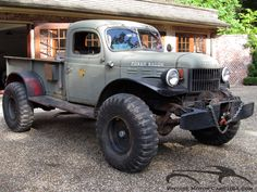 1956 Dodge Power Wagon Swivel Frame- The Dodge Power Wagon still makes a bold statement more than 70 years after it was introduced, and it looks like it could climb the side of Mount Everest without a Sherpa. For those of you already familiar with the mighty Power Wagon, you likely know that this one's Willock Swivel Frame option is extraordinarily rare (only 49 were built and a rumored 14 still exist), and gives this truck unmatched prowess off-road without compromising its carrying…