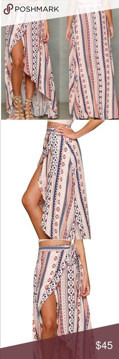 Boho Skirt Super Sexy And Soft Maxi Skirt (ONE SIZE FITS MOST / Not recommended for plus size) Skirts