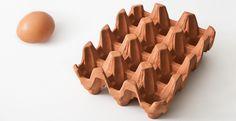 English Terracotta Egg Rack (Full Dozen)