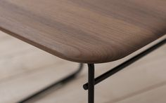 Pastoe - Pastoe Chairs: Wiretable - Tafel detail blad. Design: Studio Pastoe - 2015