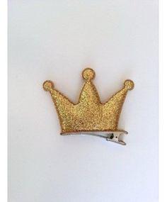 Bico de Pato Coroa Três Pontas Dourada
