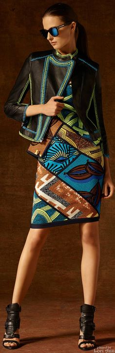 Hervé Léger by Max Azria ~Latest African Fashion, African Prints, African fashion styles, African clothing, Nigerian style, Ghanaian fashion, African women dresses, African Bags, African shoes, Nigerian fashion, Ankara, Kitenge, Aso okè, Kenté, brocade. ~DK
