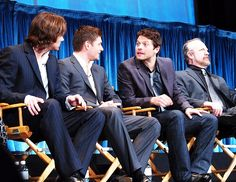Jared, Jensen, Misha and Jim