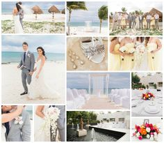 Inspirational Wedding Ideas #247: Playa Mujeres Beach Wedding - http://www.diyweddingsmag.com/inspirational-wedding-ideas-247-playa-mujeres-beach-wedding/