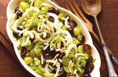 Grape and fennel salad recipe! Healthy and delish!