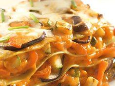 Lasagnes aux légumes et à la mozzarella