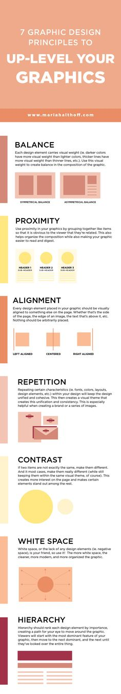 7 Graphic Design Principles to Up-Level your Graphics — Mariah Althoff, Visual Branding Expert + Graphic Designer - If you're learning graphic design and want to up-level your graphic design aesthetic right from t - Graphisches Design, Web Design Tips, Graphic Design Tutorials, Tool Design, Graphic Design Inspiration, Layout Design, Design Elements, Aesthetic Design, Design Ideas