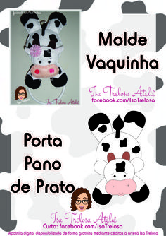 1 million+ Stunning Free Images to Use Anywhere Animal Sewing Patterns, Felt Patterns, Felt Crafts, Diy And Crafts, Kitchen Hot Pads, Cow Craft, Farm Quilt, Cow Pattern, Free To Use Images