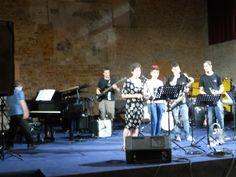 Luisa Torresan di Venetojazz presenta la serata di sabato 21 luglio all'auditorium: combos e big band