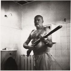 Ernest Hemingway in Cuba, circa 1954.