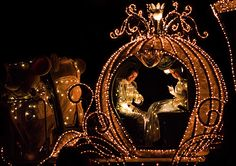 Cinderella & Prince Charming in her coach in the Main Street Electrical Parade at the Magic Kingdom Disney Girls, Disney Love, Disney Magic, Disney Disney, Cinderella And Prince Charming, Cinderella Prince, Cinderella Broadway, Cinderella Coach, Cinderella Theme