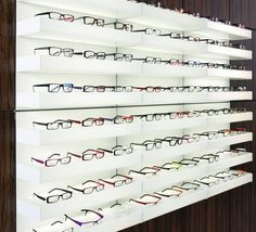 Expositor de Gafas  Mural Óptica