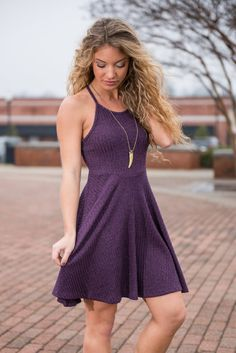 """""""Candle Light Evening Dress, Plum"""" 