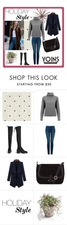 """""""YOINS 9"""" by ramiza-rotic ❤ liked on Polyvore featuring beauty, York Wallcoverings, NYDJ and yoins"""