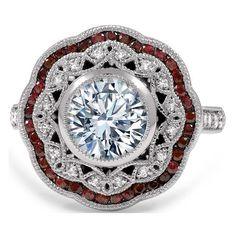 Large Halo Diamond