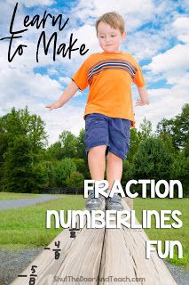 Check out 3 fraction number line activities for kids in grade and up. The printable pages will help your students learning the concept of mixed numbers and improper fractions. Number Line Activities, Math Activities, Math Worksheets, Math Fraction Games, Math Games, Math Math, Upper Elementary Resources, Elementary Math, Teaching Decimals