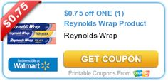 Lots of new printable coupons including Reynold's Wrap, Gerber baby & toddler products, Barilla Pasta, and more!   5DollarDinners.com